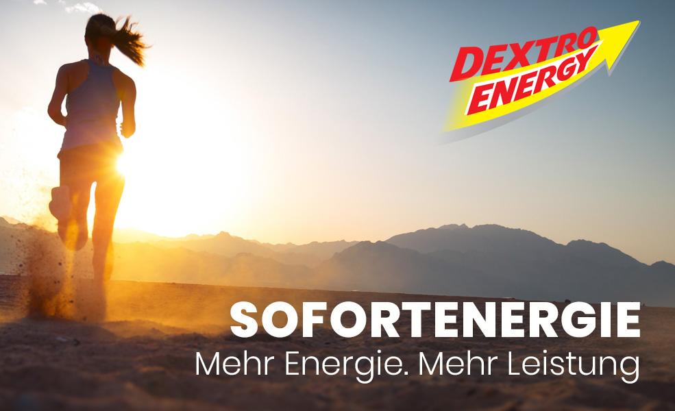 Dextro Engergy - Mehr Engergie. Mehr Leisung.